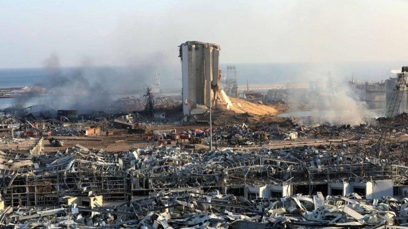 Imagini şi informaţii noi după explozia din Beirut! Cel puţin 157 de morți si peste 5.600 răniţi