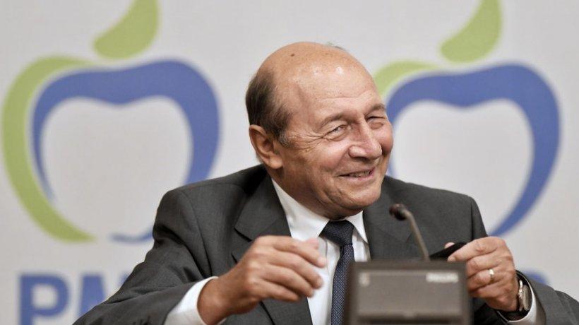 """PMP își schimbă denumirea în PDL: """"Avem rezervată denumirea de PDL, este în sertar"""". Ce urmărește Băsescu prin această strategie"""