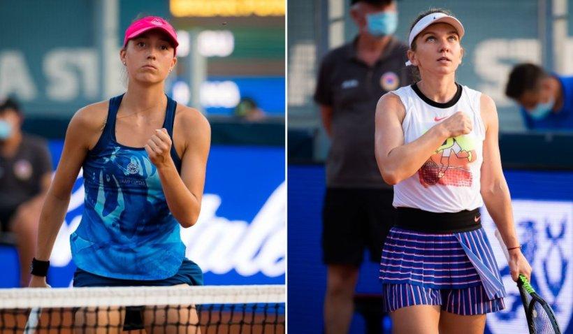 Irina Begu vs. Simona Halep în semifinala de la Praga, după un meci dramatic câștigat în tiebreak
