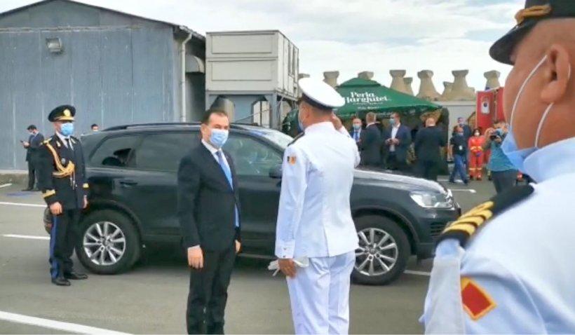 Iohannis și Orban participă la festivitățile de Ziua Marinei. Programul din acest an