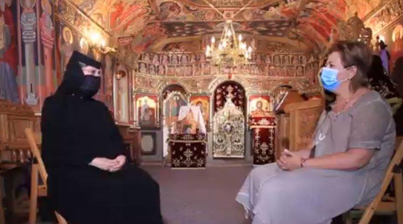 Maica Stareță de la mănăstirea Drăgănești Vlașca, cea mai curată rugăciune către Maica Domnului