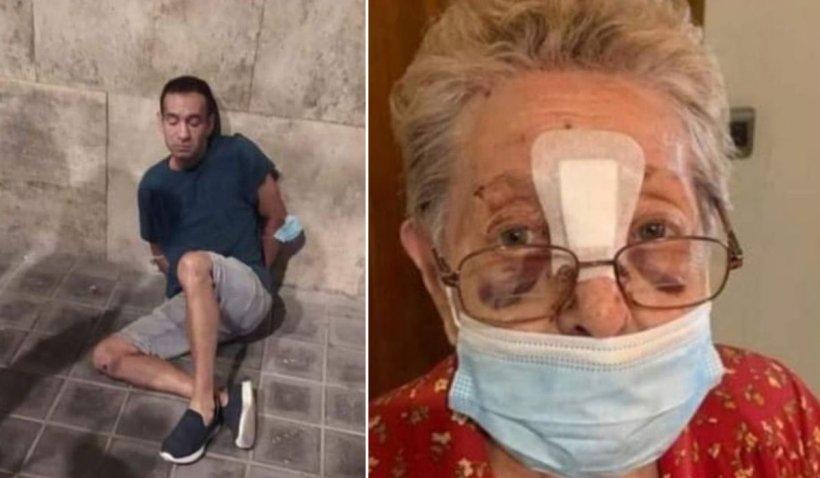 Un român a bătut cu sălbăticie o bătrână, în Valencia, pentru a-i fura 40 de euro
