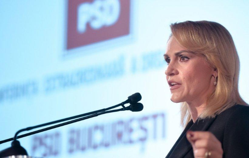 """Gabriela Firea, la Congresul PSD: """"Trebuie să fim evaluaţi pentru ceea ce facem, nu pentru istorie"""""""