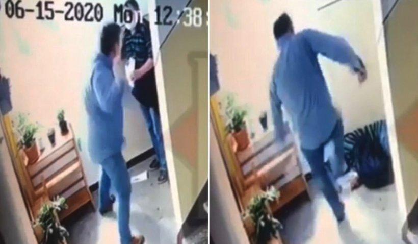 Pensionar din Cluj bătut fără milă de un bărbat pe care l-a anunțat că îi va fi tăiat curentul