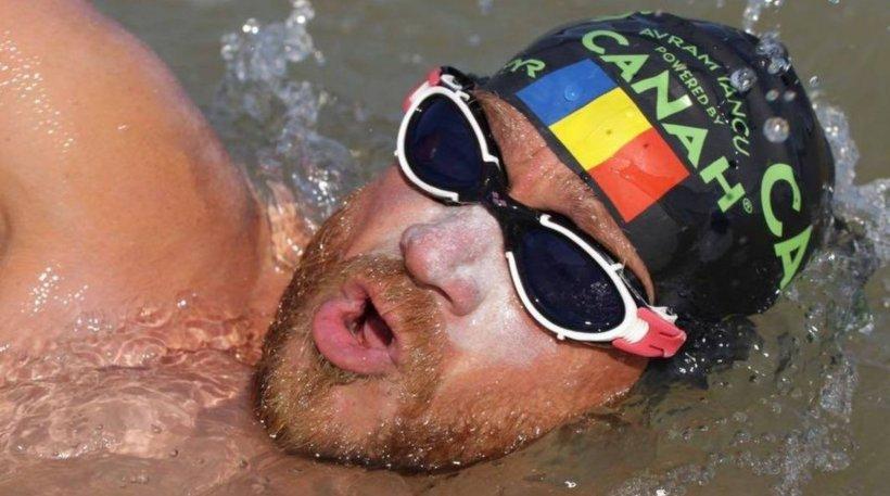 Record național de înot, stabilit de Avram Iancu. E primul român care a înotat continuu 24 de ore