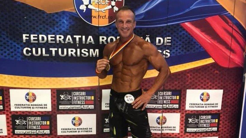 Florentin Corbeanu, poliţistul culturist devenit campion naţional