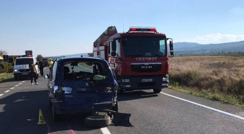Accident rutier grav în Vrancea. O persoană a murit! Sunt mai mulți răniți