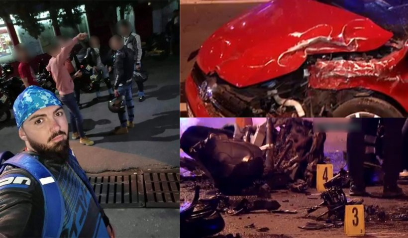 Motociclistul lovit de o şoferiţă neatentă în Bucureşti a murit. Tânărul fusese resuscitat cu succes la locul accidentului