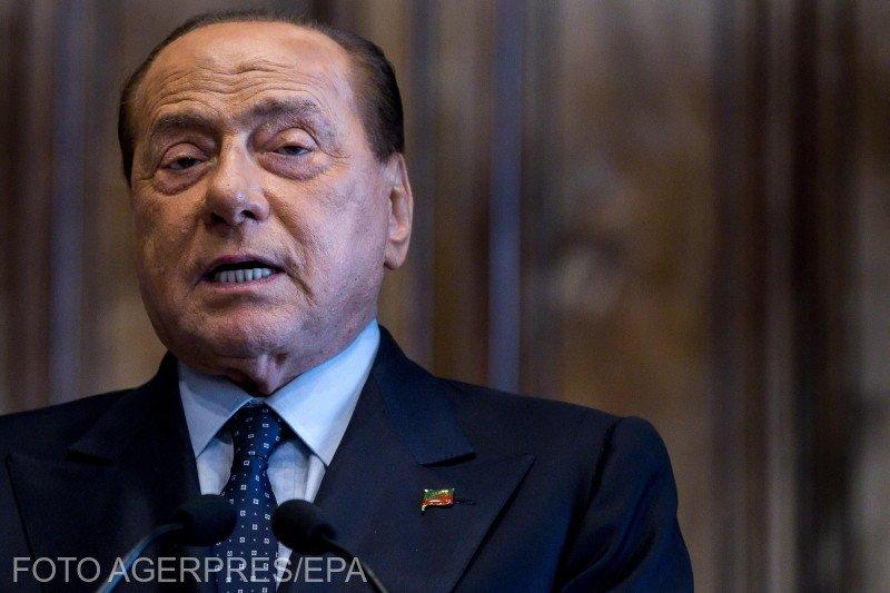 """Detalii despre starea de sănătate a lui Berlusconi, infectat cu COVID.Medicul:""""Faza este delicată"""""""