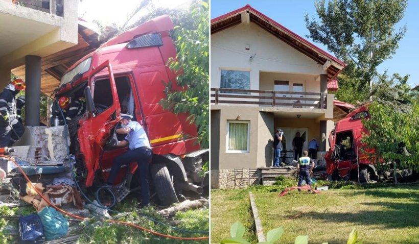 Fetiță de trei ani ucisă de un TIR, în timp ce se juca în curtea casei, în Iași