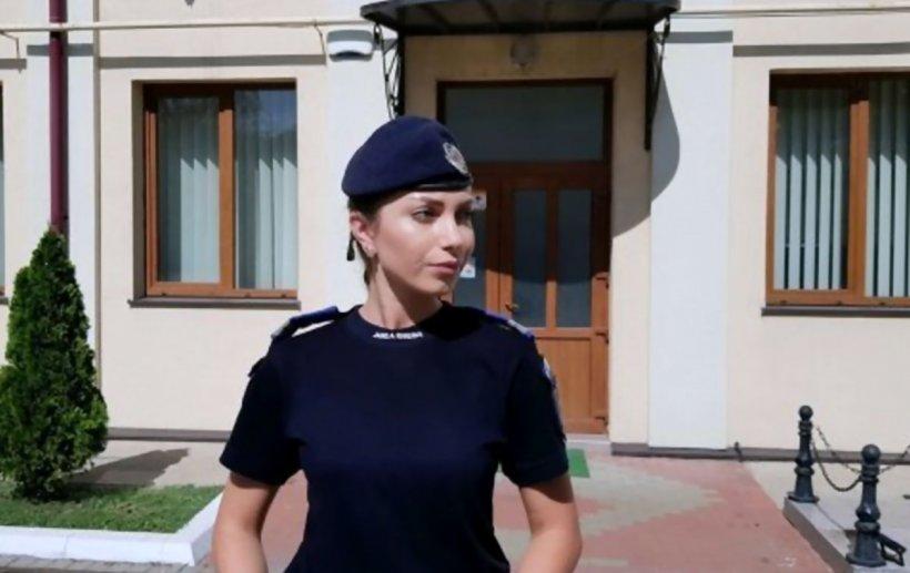 Jandarmeriţa Rebeca Popa a împușcat și imobilizat un șofer teribilist, după o urmărire ca în filme