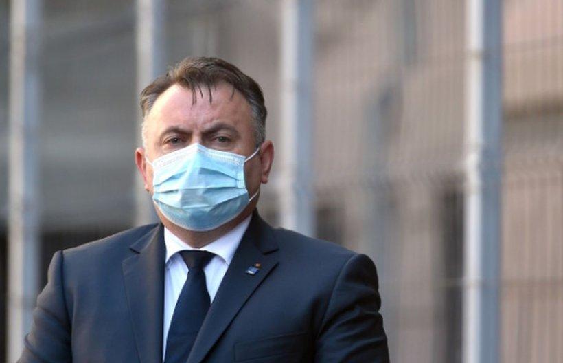 """Avertismentul lansat de ministrul Nelu Tătaru: """"Pregătim spitalele pentru 2.000 de cazuri pe zi"""""""