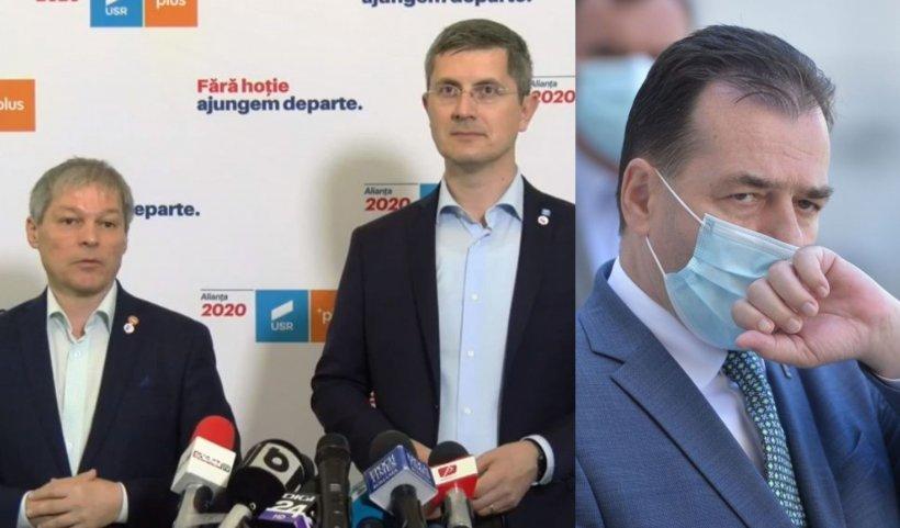 USR-PLUS, atac la partenerii liberali: PNL are 7.000 de traseiști la alegeri