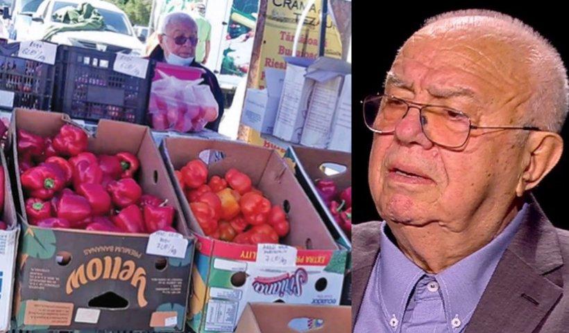"""Alexandru Arșinel, detalii în exclusivitate. Cum a ajuns să vândă legume în piață: """"A fost emoționant!"""""""