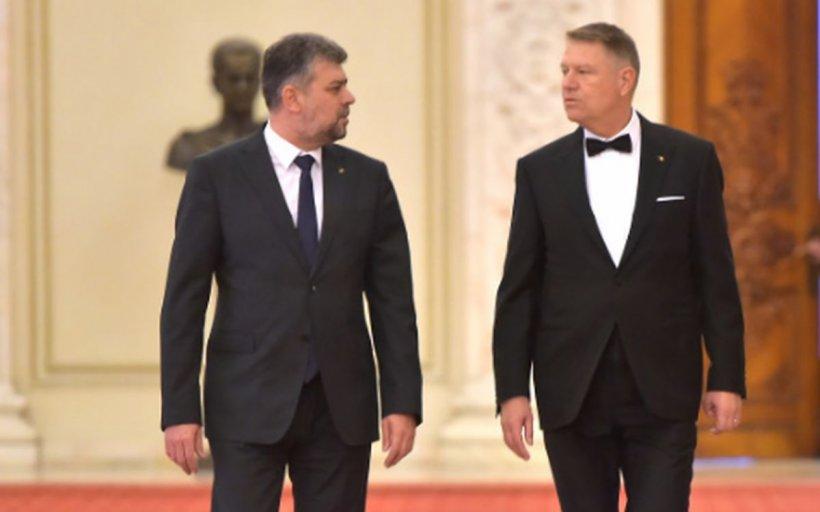 """Marcel Ciolacu, replică pentru Iohannis: """"Trist președinte, jalnic profesor!"""""""