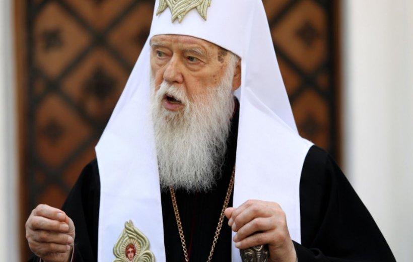 Patriarhul Filaret are COVID-19, după ce a spus că boala este pedeapsă divină pentru homosexuali