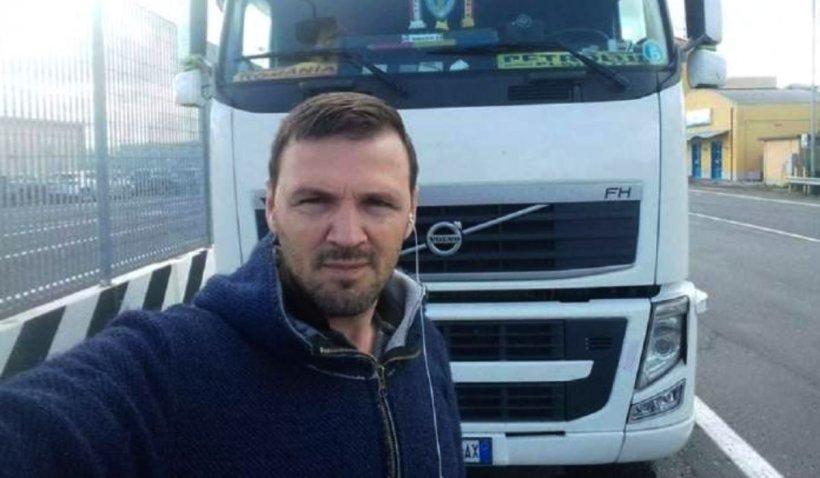Șoferul român de TIR dispărut în Italia a fost găsit în Forli, după nouă zile