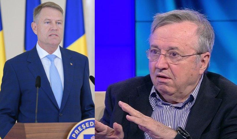 Cristoiu: Iohannis s-a angajat cu toate forţele în procesul de compromitere a funcției de Președinte