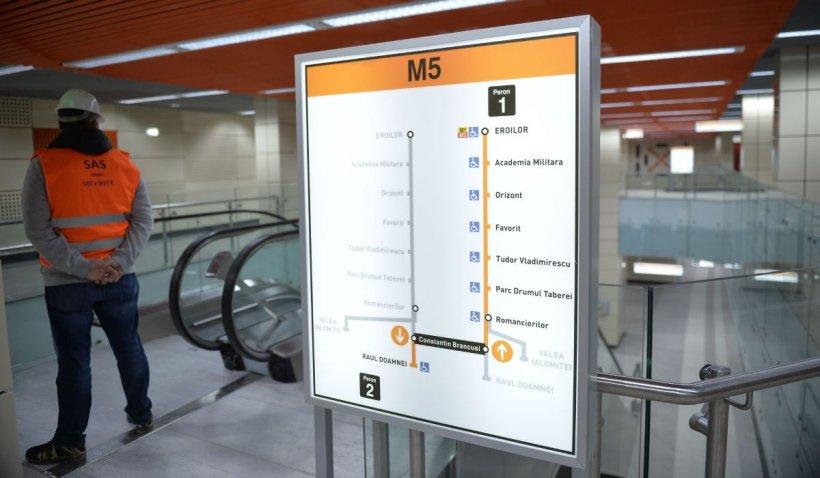 Epopeea metroului din Drumul Taberei ia sfârșit. Când va fi pus în funcțiune
