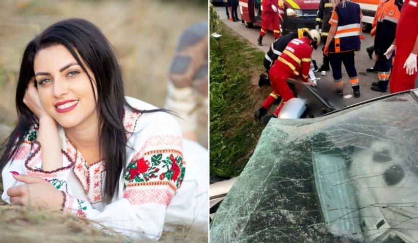 Cântăreața Dana Cușnir a murit la 23 de ani, într-un cumplit accident în Suceava