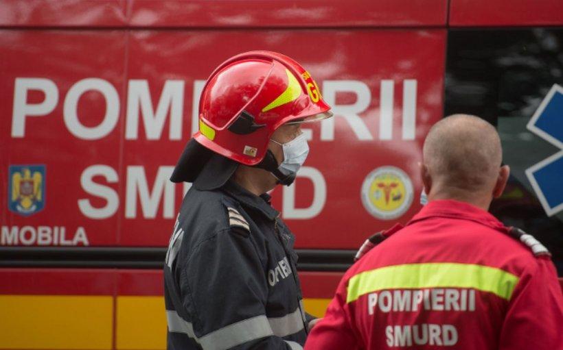 Incendiu puternic în Cernavodă. O persoană a murit