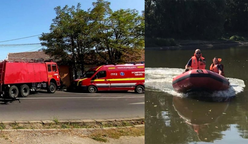 """Intervenţia pompierilor la copilul înecat din Arad, îngreunată de un apel fals la 112. ISU Arad: """"Vi se pare distractiv?"""""""