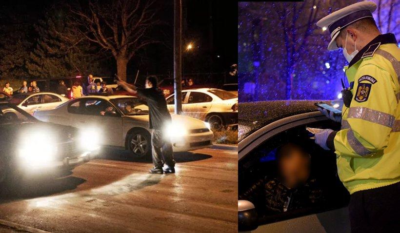 """Un suspect de Covid, plasat în carantină, făcea """"liniuţe"""" în centrul oraşului. Radarul a prins, simultan, două maşini cu 120 km/h"""