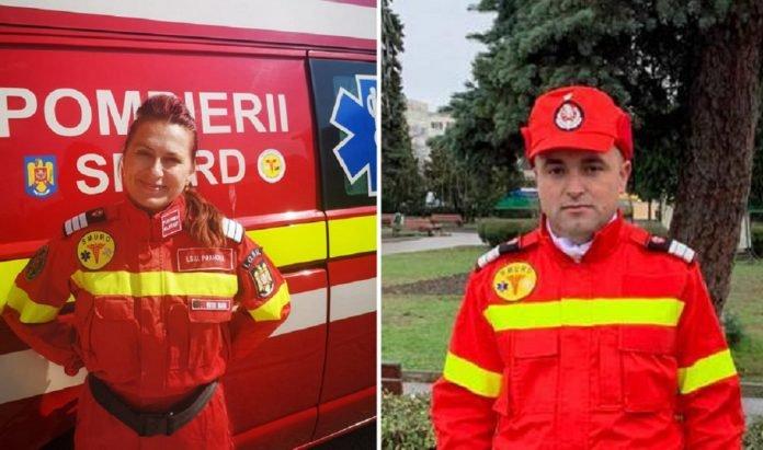 Eroi în timpul liber. Doi pompieri au salvat în ultimul moment un bătrân grav rănit