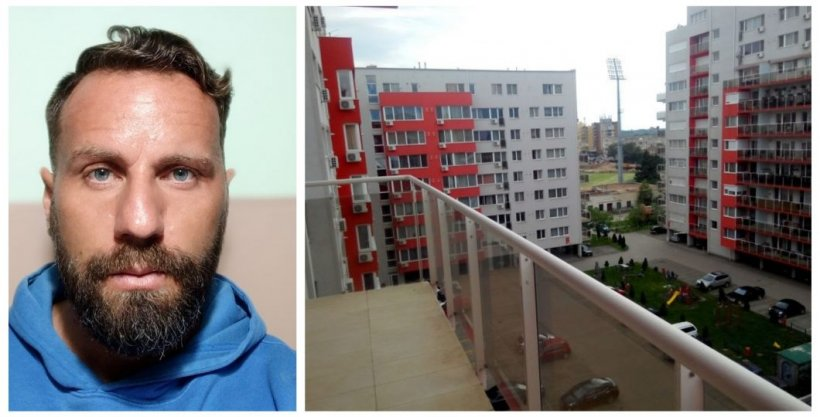 Un fost fotbalist de 37 de ani, tatăl unei fetiţe, s-a aruncat de la etajul 7 al unui bloc, în Arad