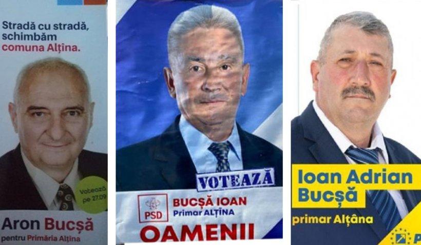 Satul unde pe toţi candidaţii la alegerile locale îi cheamă Bucşă. Doi dintre ei au chiar și același prenume