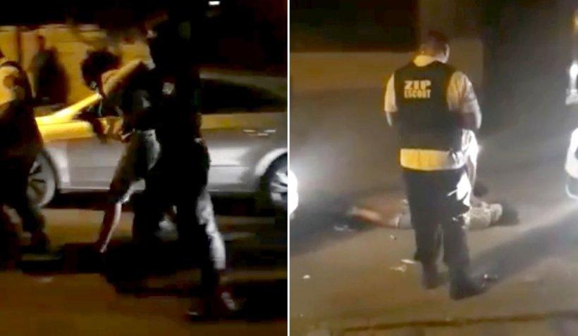 Filmul scandalului din barul din Constanţa unde o tânără a bătut patru poliţişti şi trei agenţi de pază
