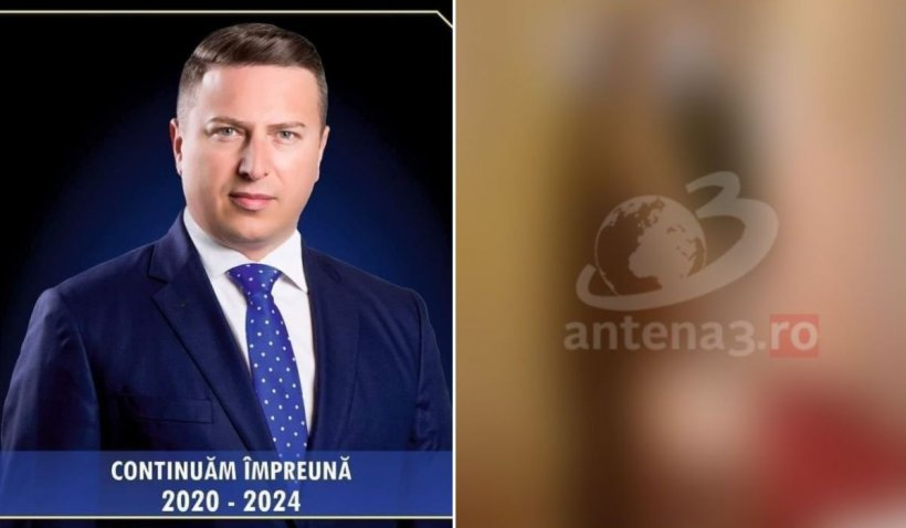 Primarul din Sângeorz-Băi, filmat în timp își umilește fiica dezbrăcată, pusă să stea în genunchi