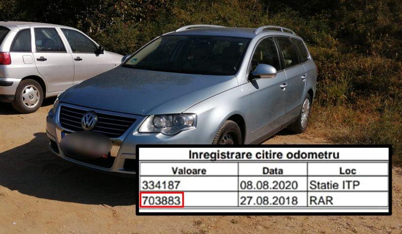Cum a luat ţeapă un tânăr care a dat 6.000 de euro pe o maşină cu 700.000 de kilometri, daţi înapoi