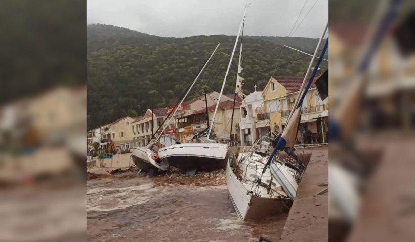 Furtuna tropicală Ianos face ravagii în Grecia