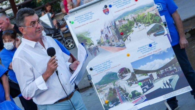"""Petru Marginean, candidatul PPU (social-liberal) la Primăria Deva: """"Avem nevoie de un oraș sănătos"""""""