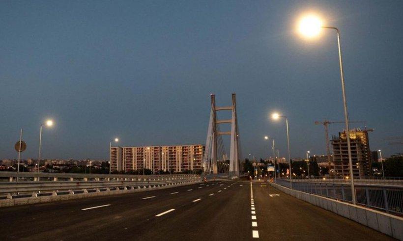 Bucureştenii pot circula pe podul Ciurel începând din această dimineaţă
