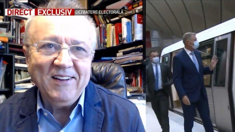 Maestrul Ion Cristoiu face analiza săptămânii a campaniei electorale: ''Toată atenţia e concentrată pe Bucureşti!''