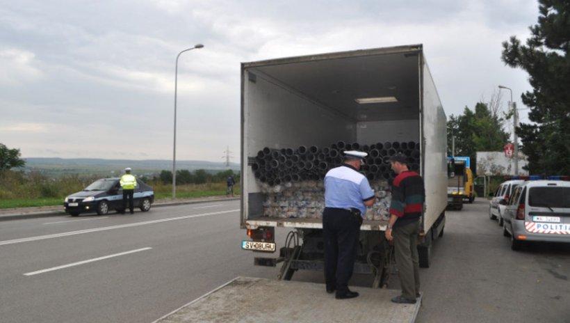Razie de amploare în București! Poliţiştii au verificat sute de autovehicule și au aplicat amenzi uriașe