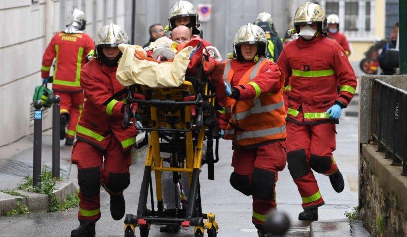 Şapte persoane, reţinute la o zi după atacul din Paris