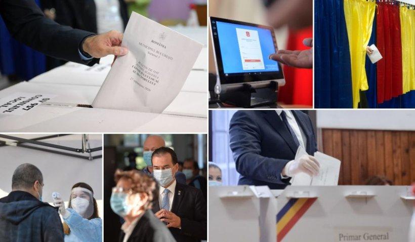 Alegeri locale 2020. Prezență surprinzătoare la vot! Peste 7,6 milioane de români au votat, prezența la urne depășește 41%