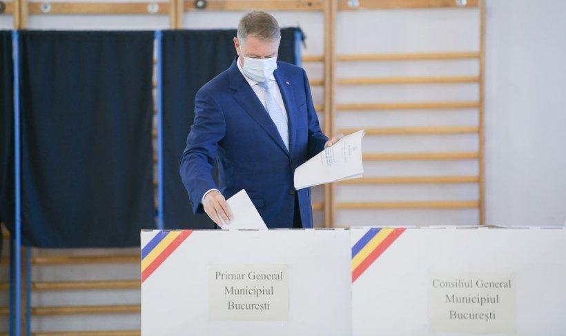 Klaus Iohannis, la vot: E important să ne uităm bine la candidați