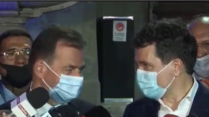 Nicușor Dan și Ludovic Orban, pentru prima dată față în față după aflarea rezultatelor