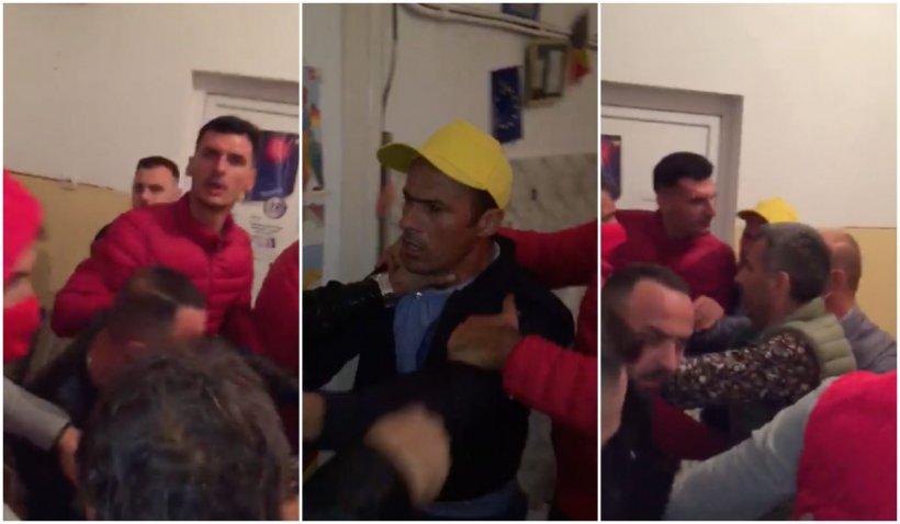 Medic bătut din cauza urnei mobile - Au intervenit mascații