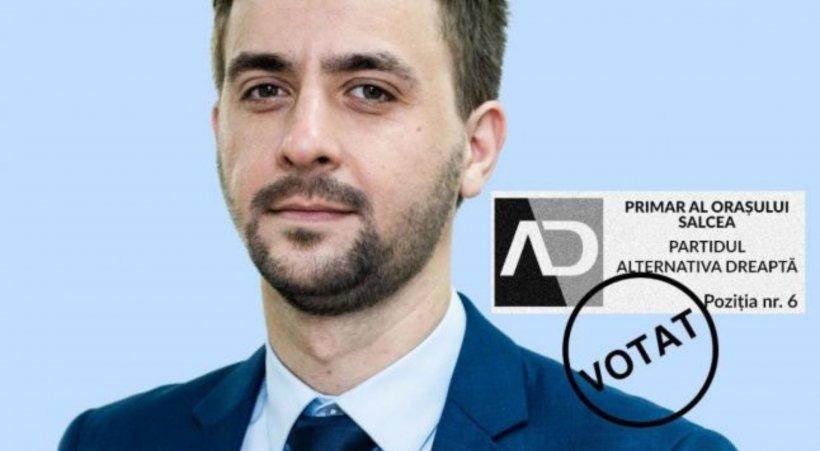 Tânărul anonim, candidat la primăria unui oraș, care a obţinut mai multe voturi decât cei 7 contracandidaţi la un loc