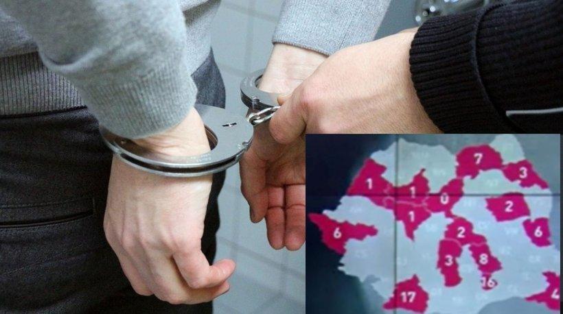 Harta celor mai periculoase zone din România. Aici acționează mafioții!