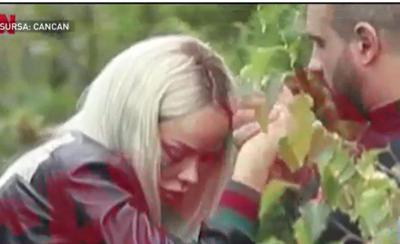 Imagini șocante: Bianca Drăgușanu, desfigurată după o bătaie cruntă primită de la Alex Bodi. Vedeta abia se ține pe picioare