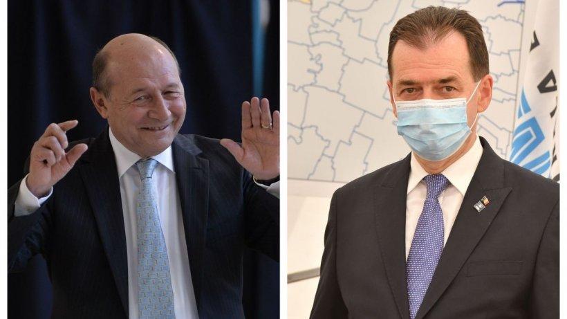 Lovitură de teatru pe scena politică. Ludovic Orban, negocieri cu partidul lui Băsescu