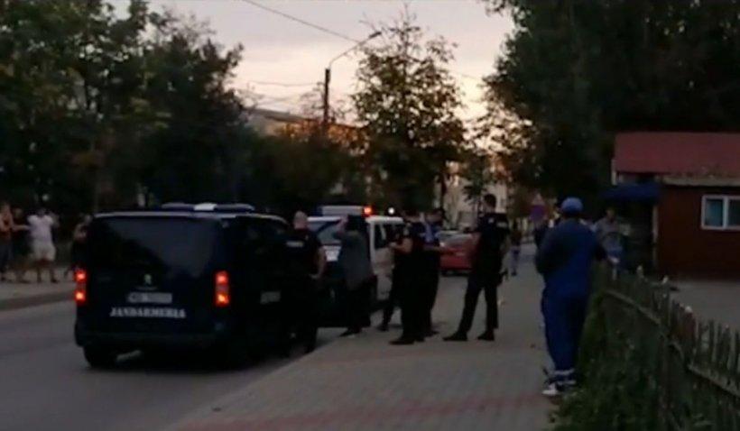 Incident șocant la Vaslui! Adolescent înjunghiat în plină stradă