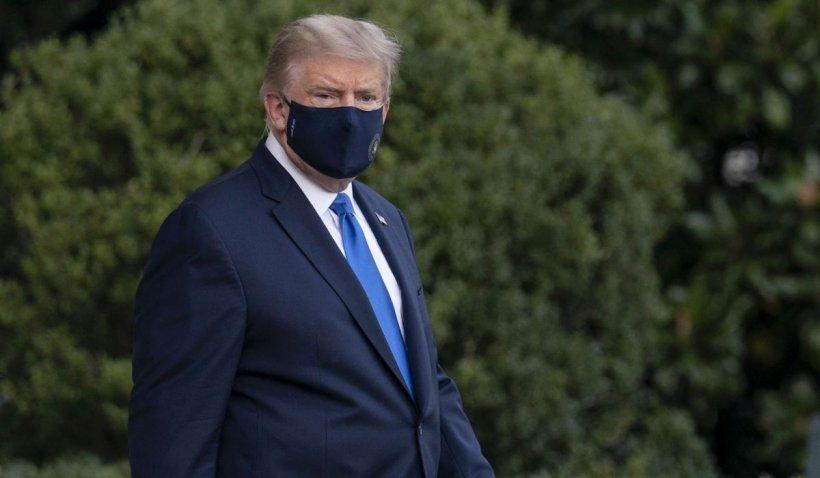 Președintele SUA Donald Trump a anunțat că se externează