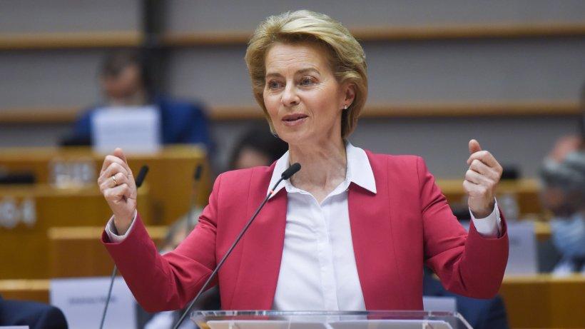 Ursula von der Leyen, în izolare. Președinta Comisiei Europene a intrat în contact cu o persoană infectată cu COVID-19